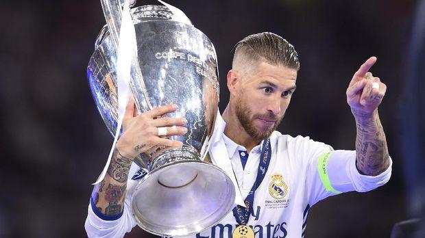 Sergio Ramos punya rekor mencetak gol yang bagus di final Liga Champions.