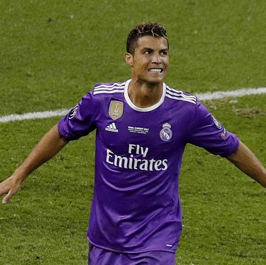 Reuni Singkat nan Manis Ronaldo-Sir Alex di Cardiff