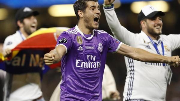 Morata Serahkan Masa Depannya kepada Madrid