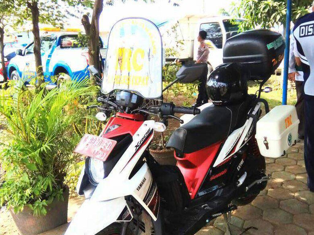 Sepeda Motor Ambulans Siaga Bantu Pemudik