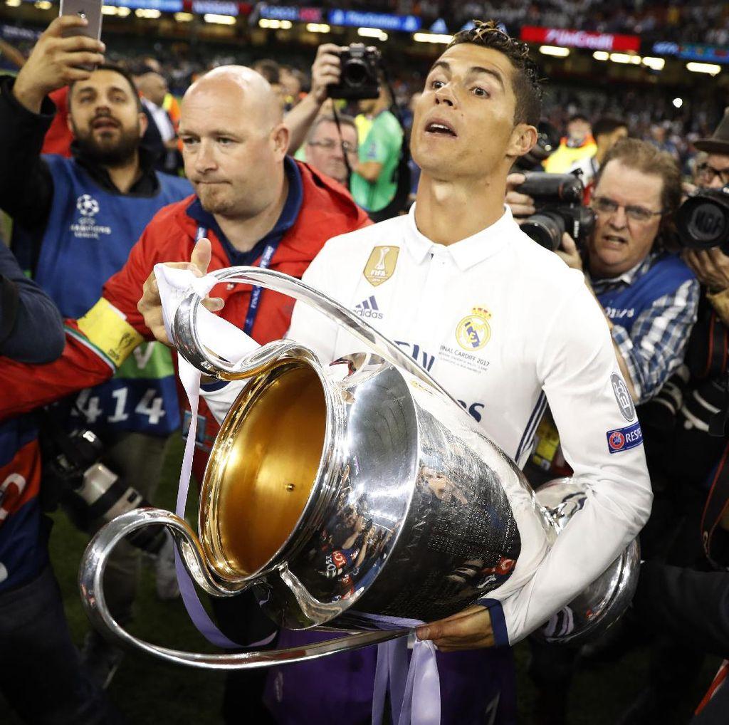 Ada Penyusup di Perayaan Juara Real Madrid