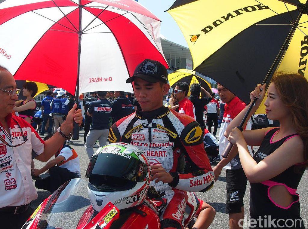 Tekad Gerry Salim dalam Race 2 di Suzuka
