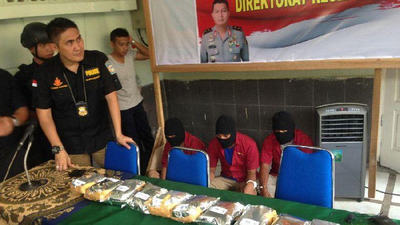 Polisi Tembak Mati Bandar Narkoba di Medan, Sita 5 Kg Sabu