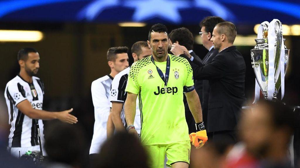 Belum Juara Liga Champions, Buffon Tak Gelisah Juga Tak Terobsesi