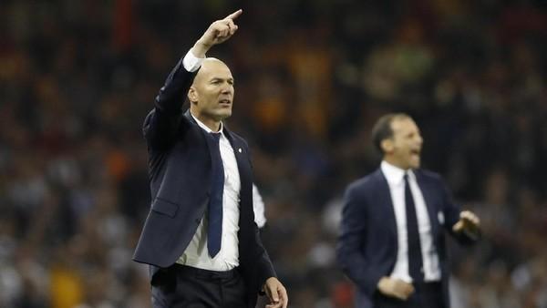 Zidane Akui Juve Sempat Bikin Madrid Menderita