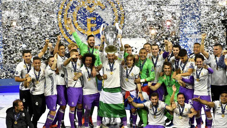 MU Sambut Madrid di Piala Super Eropa