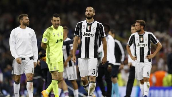 Tembok Kokoh Juventus yang Tak Berdaya di Hadapan Madrid