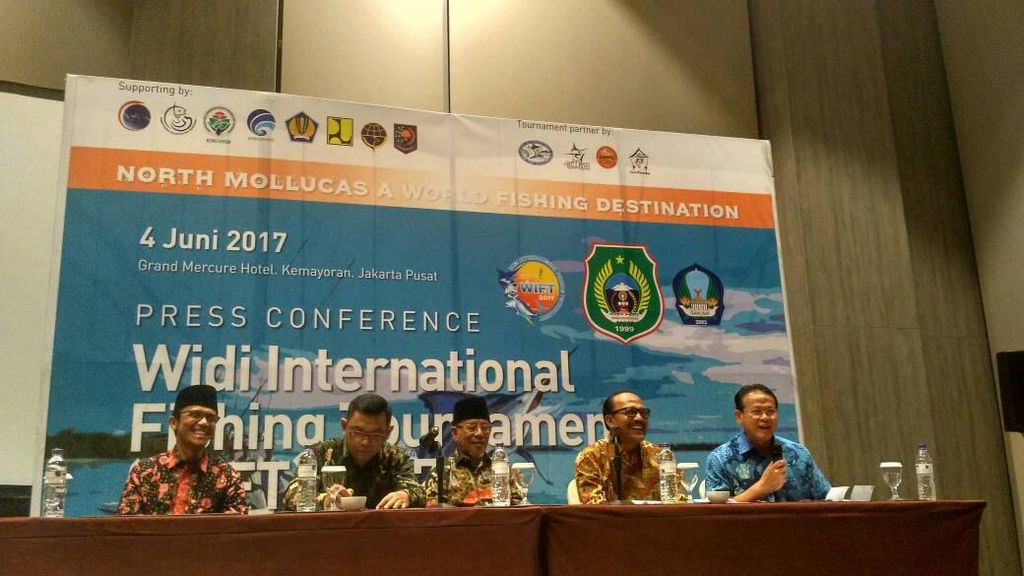 Maluku Utara Siap Gelar Turnamen Mancing Internasional Terbesar Sedunia