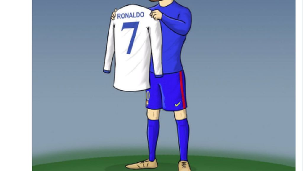 Meme Ronaldo Bikin Messi Menangis