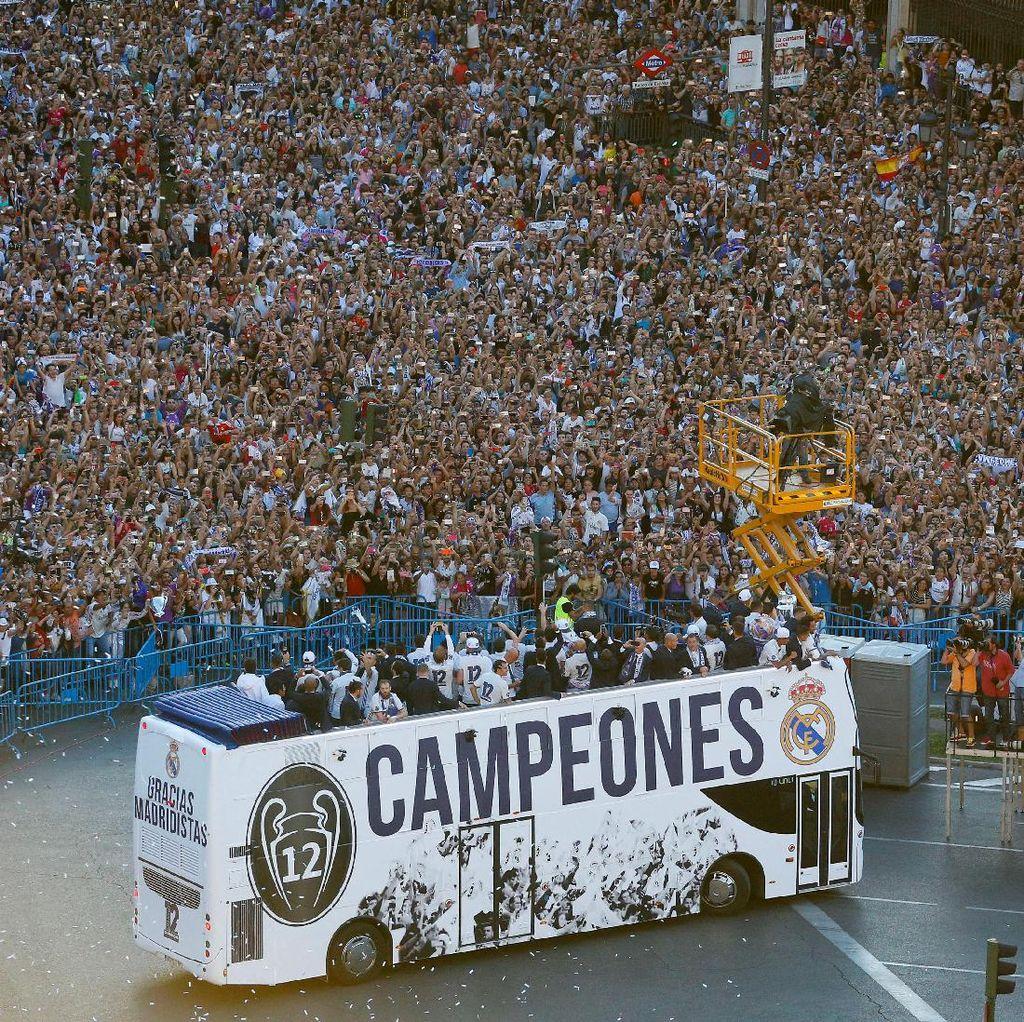 Pesta Besar El Real di Kota Madrid