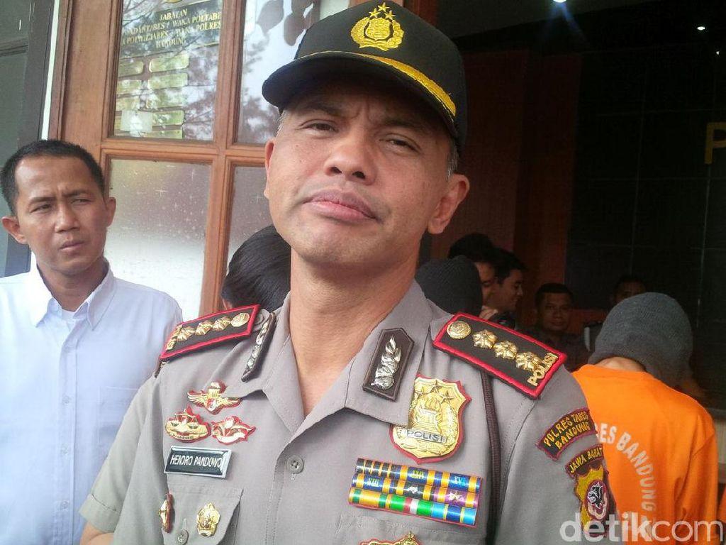 Polisi Bandung Tangkap Sopir Taksi Perampok Karyawati Bank