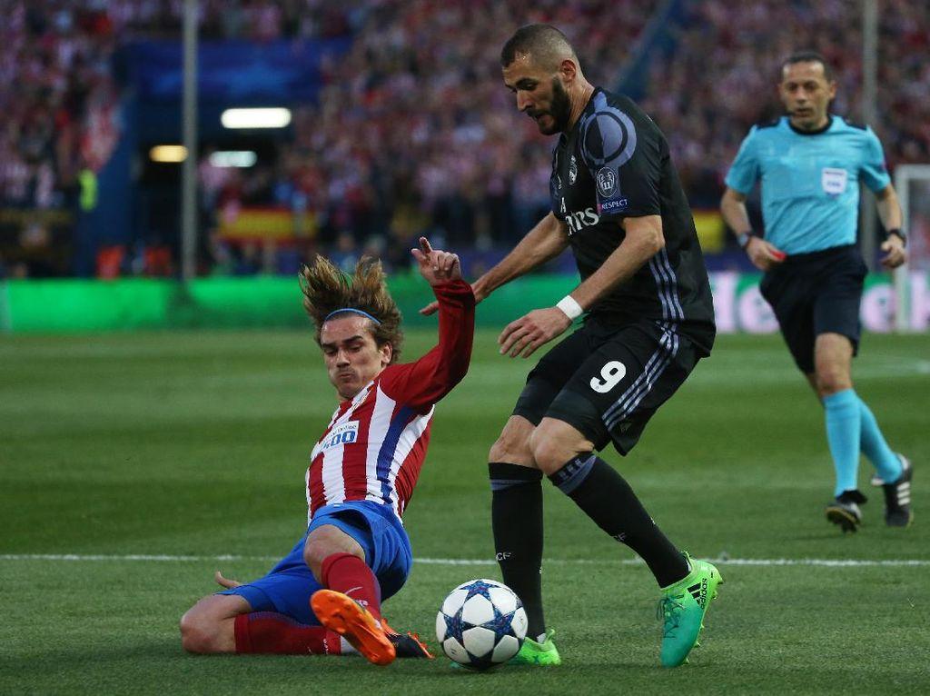 Karim Benzema Vs Benteng Kukuh Atletico