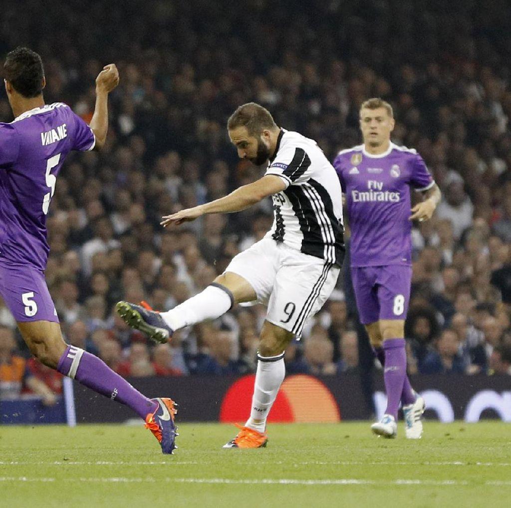 Juventus Mengecewakan di Final Liga Champions, tapi Higuain yang Paling Buruk