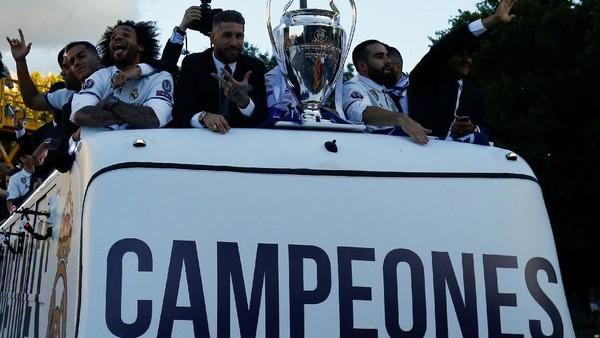 Sembilan Momen Terpenting Real Madrid Juarai Liga Champions