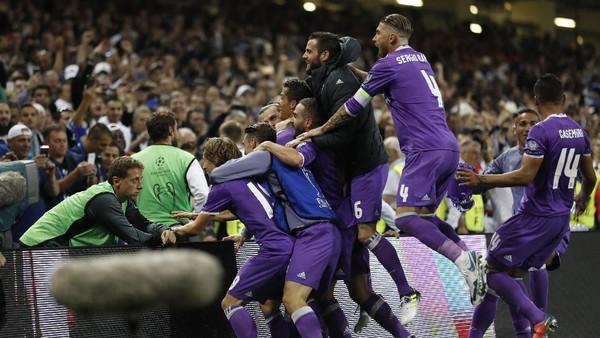 Statistik Liga Champions 2016/2017: Dominannya Madrid dan Ronaldo
