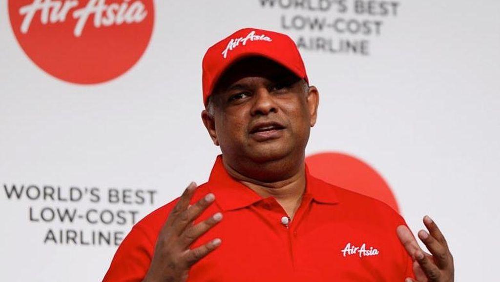 Terima Kunjungan Tony Fernandes, Luhut: Dia Mau Investasi