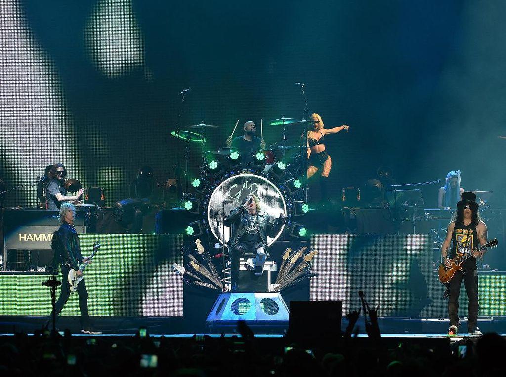 Tiket Presale Guns N Roses Habis, Regulernya Dijual 29 Juni