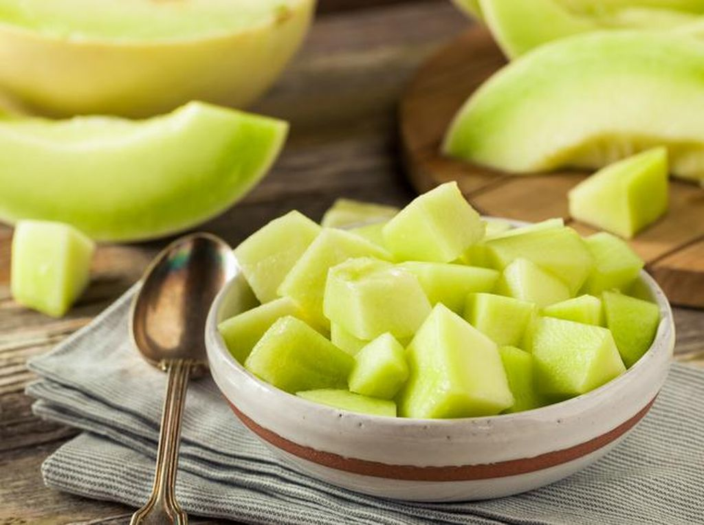 Komentar Dokter Terkait Kekhawatiran Buah Rockmelon Impor Tercemar Listeria