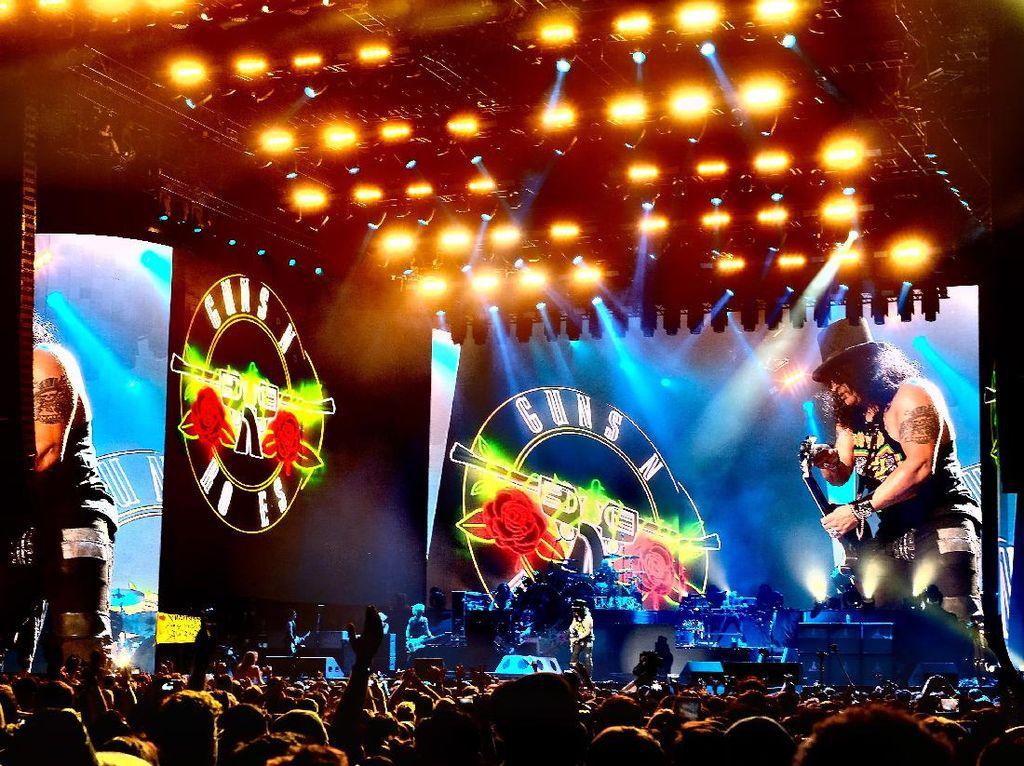 Gelombang Kekecewaan Netizen Tak Dapat Tiket Presale Guns N Roses