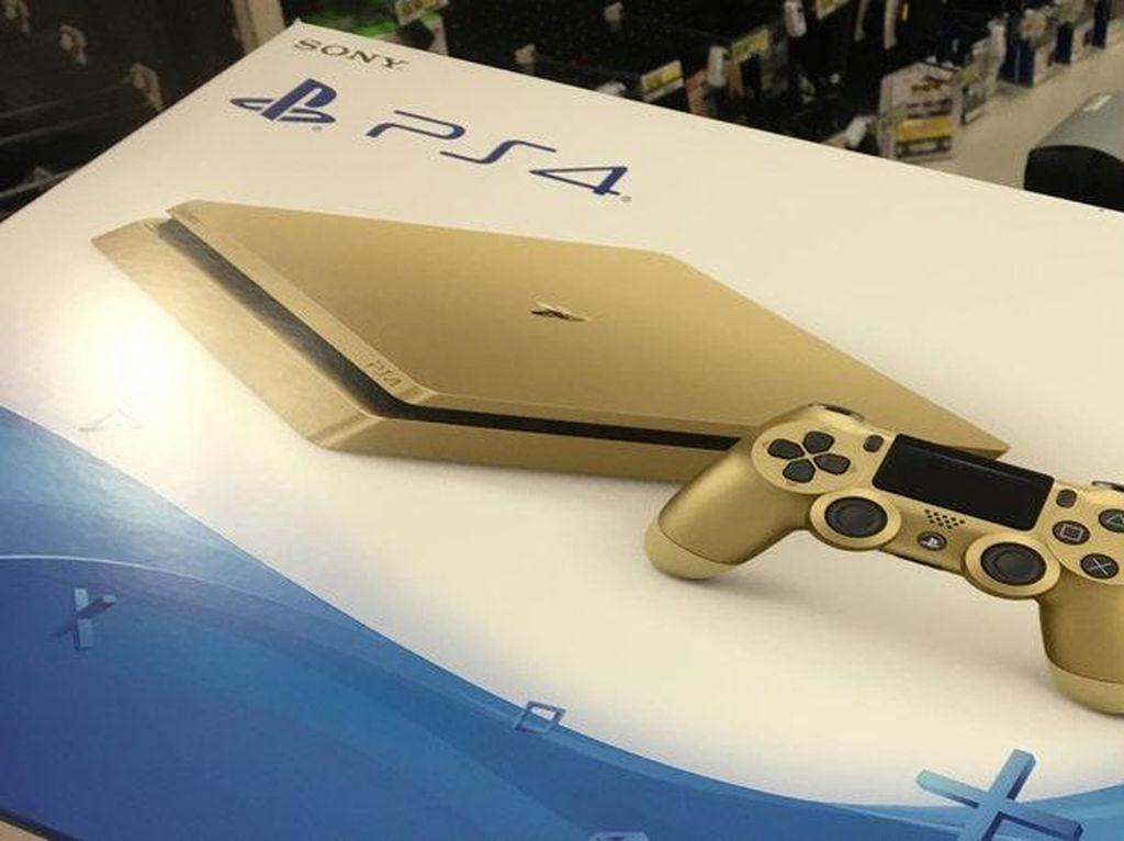 Edisi Terbatas PS4 Gold Lebih Murah dari Versi Biasa