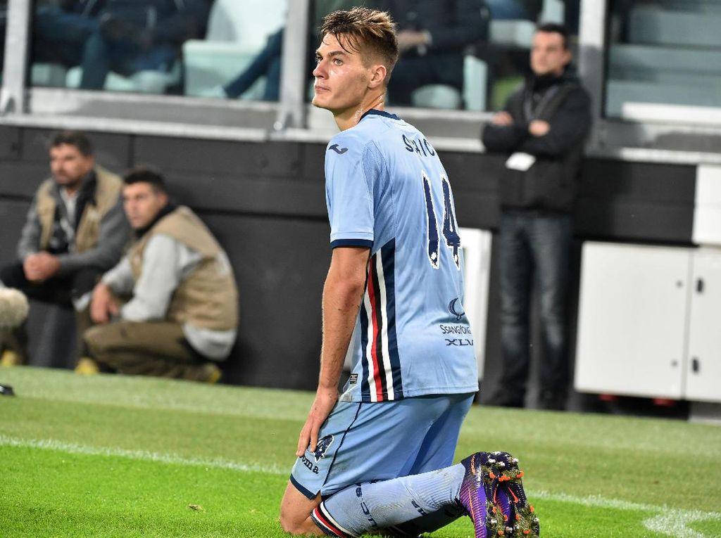 Usai Batal Gabung Juventus, Schick Kembali Latihan bersama Sampdoria