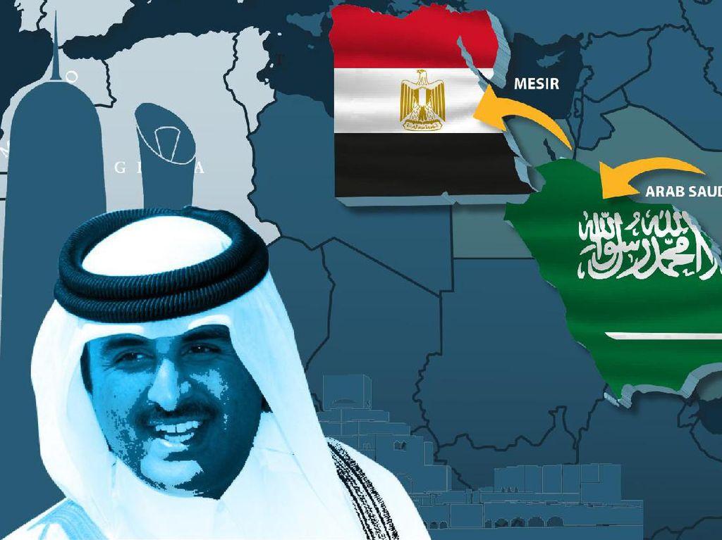 Sengketa Arab Saudi-Qatar Mengarah Kata Sepakat