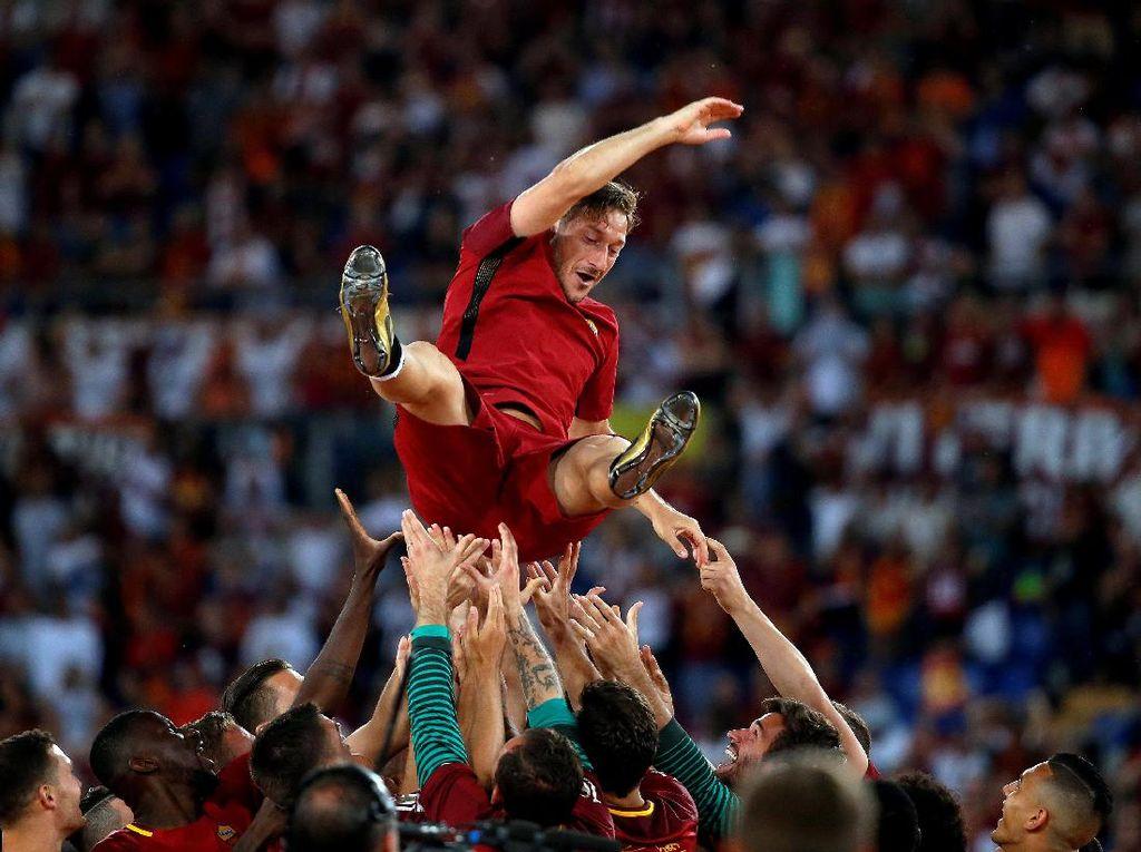 Penyesalan Tunggal Totti dalam Karier Bermainnya