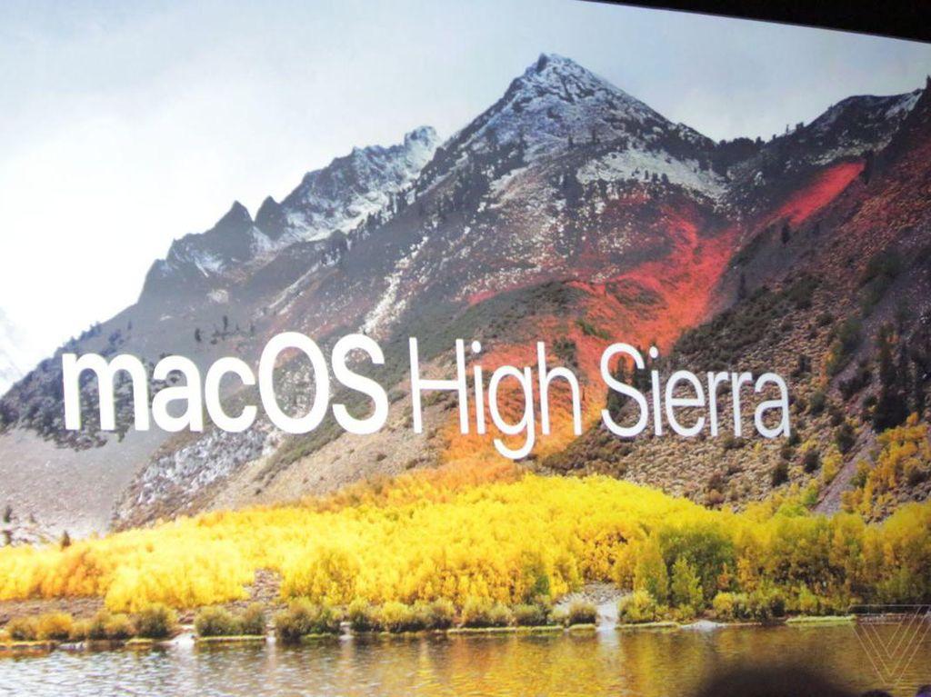 macOS 10.13 bernama High Sierra, Ini Fitur Barunya!