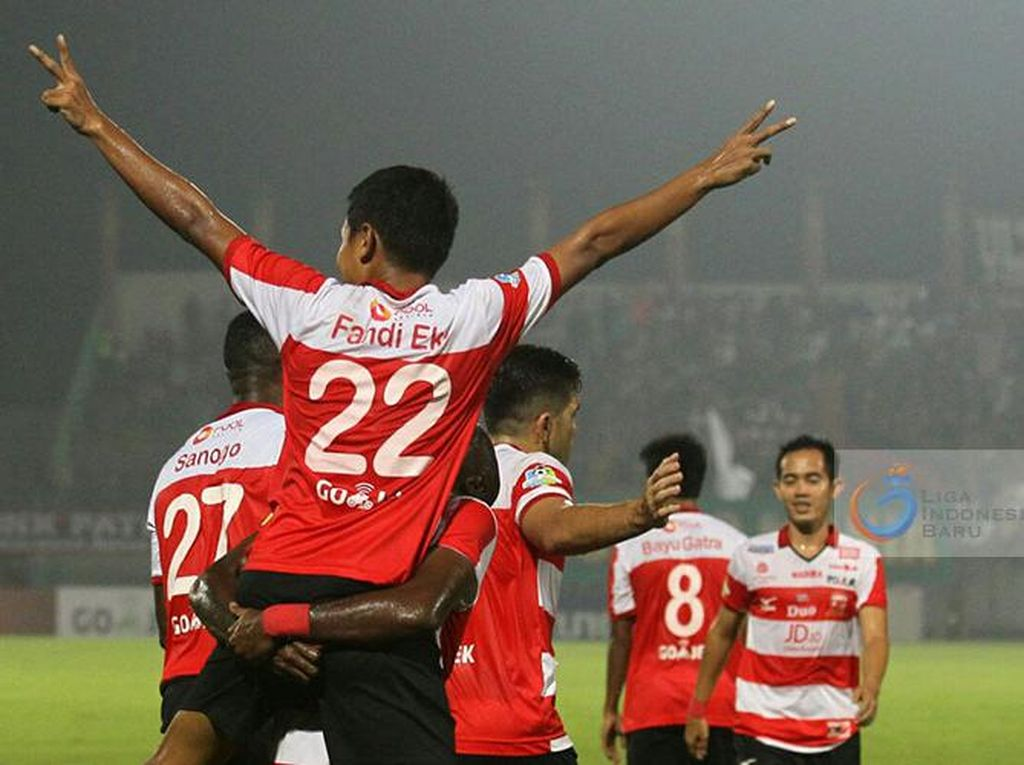 Demi Bertahan di Papan Atas, Madura United Targetkan Kemenangan atas Persipura