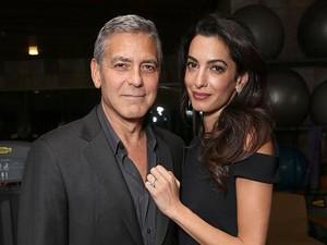 George Clooney Tuntut Media Prancis karena Sebar Foto Anak Tanpa Izin