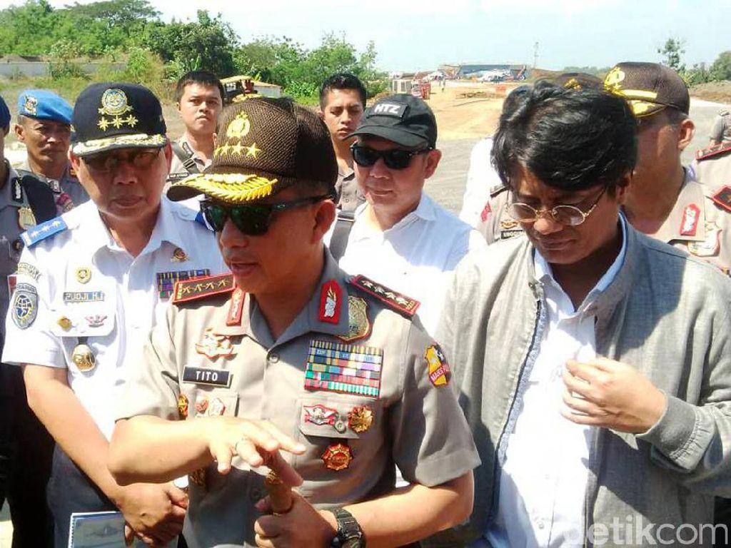Kapolri Pastikan 15 Juni Tol Fungsional Pejagan-Gringsing Dapat Dilewati