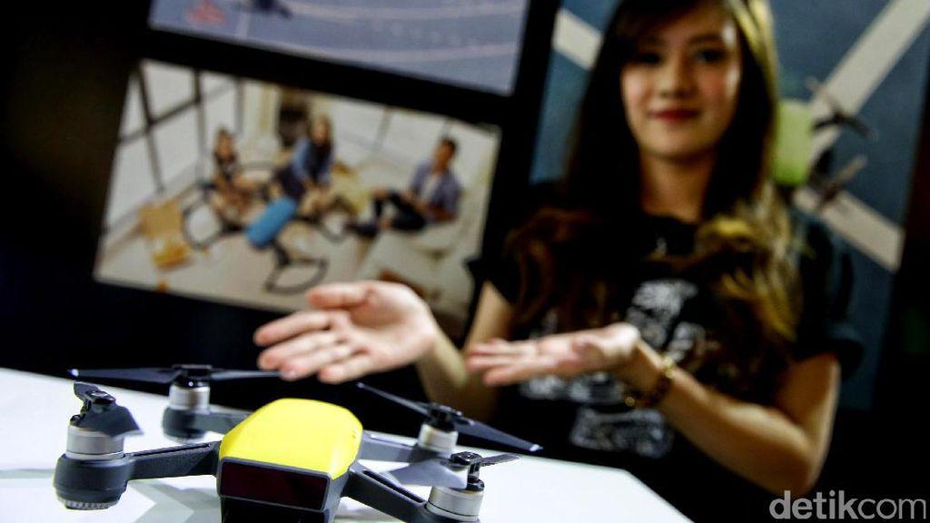 Aksi Canggih DJI Spark, Drone Mungil Rp 8 Juta