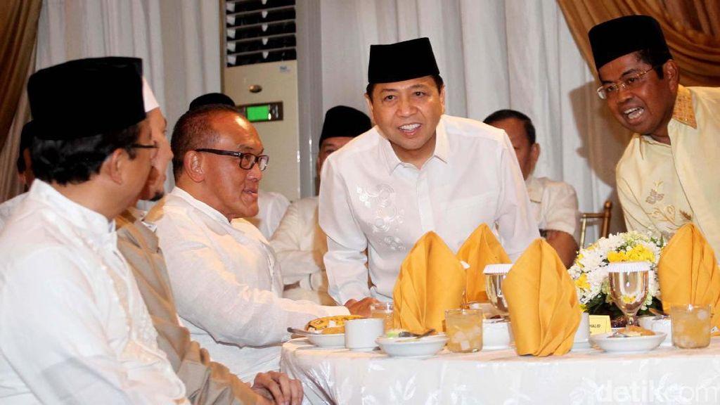 Petinggi Golkar Hadiri Buka Bersama di Rumah Novanto