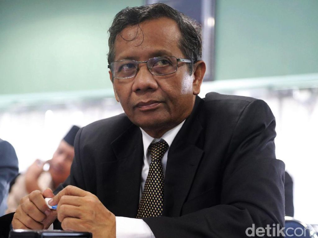 Mahfud Md Apresiasi Jaksa Agung Cabut Pedoman Periksa Jaksa