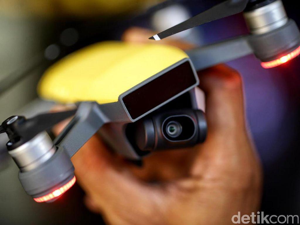 Drone DJI Dituding AS Mata-mata China