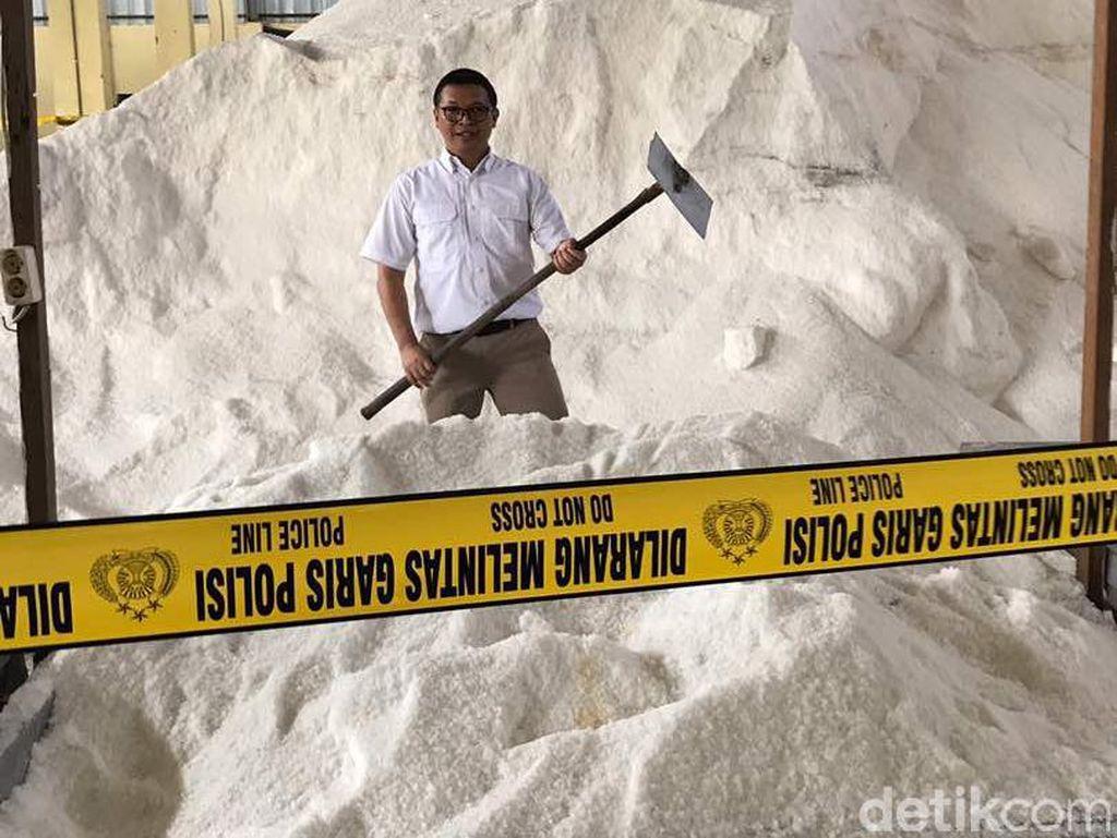Kasus Penyimpangan Garam Industri, Polisi Tetapkan 2 Tersangka