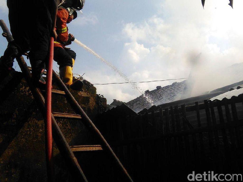 Gudang Toko Swalayan Terbakar di Bantul