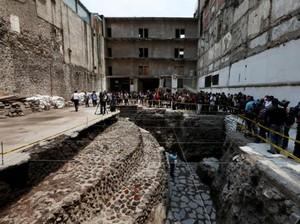 Tempat Ritual Suci Suku Aztec Ditemukan di Meksiko
