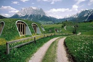 Rumah Hobbit Siap Pakai, Dibangun Hanya 3 Hari