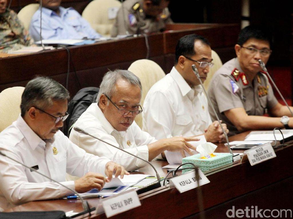Dua Menteri Rapat dengan Komisi V DPR Bahas Kesiapan Mudik
