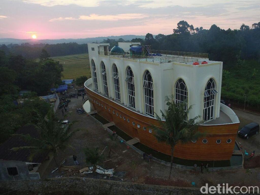Masjid Kapal Nabi Nuh di Semarang yang Dulu Viral di Medsos