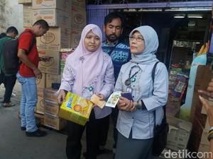 BPOM Jakarta Temukan Gudang Makanan Kedaluwarsa di Asemka