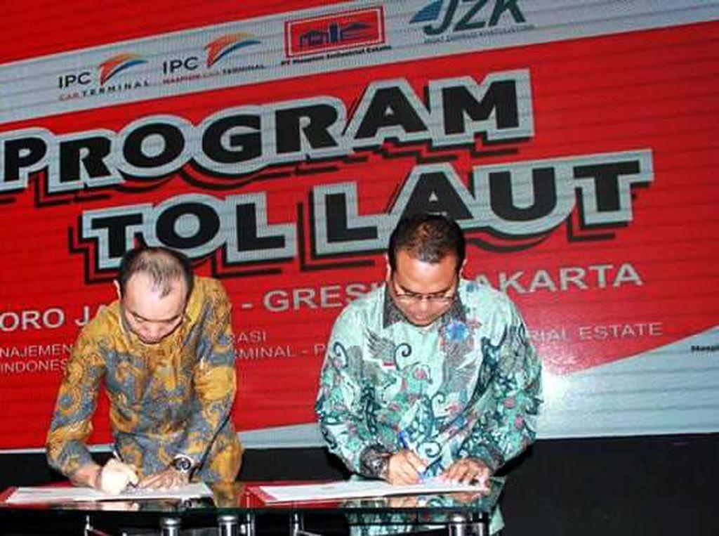 Implementasi Tol Laut Jakarta-Gresik