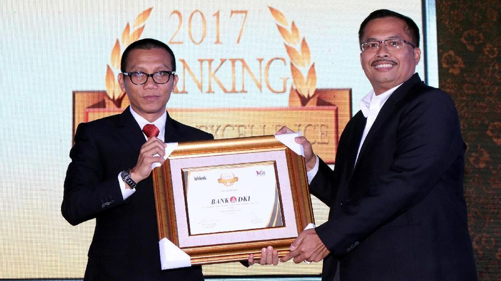 Bank DKI Sabet Dua Penghargaan