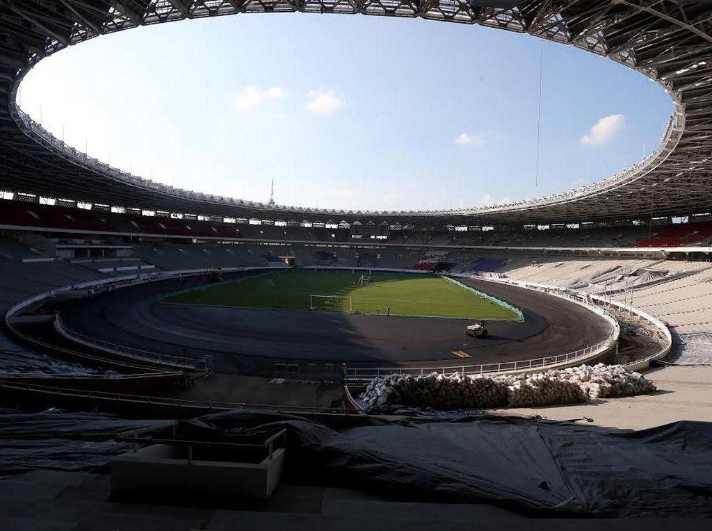 Mulai Hari Ini Akses ke Stadion GBK Dibatasi