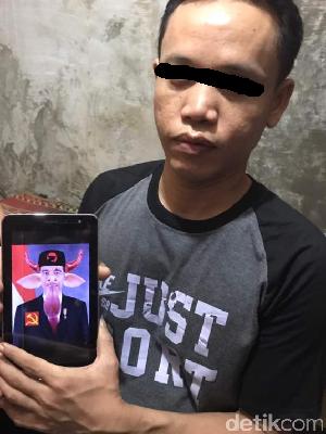Polisi Tangkap Pria yang Hina Suku dan Edit Foto Jokowi