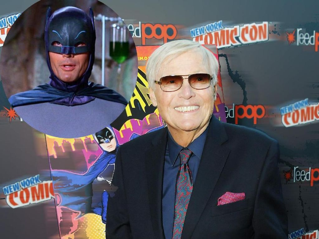 Batman Era 60an, Adam West Meninggal Dunia