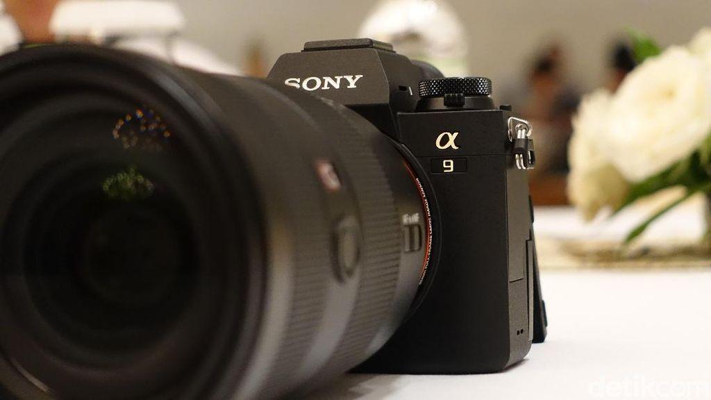 Sony Alpha 9, Mirrorless Full Frame Super Kencang