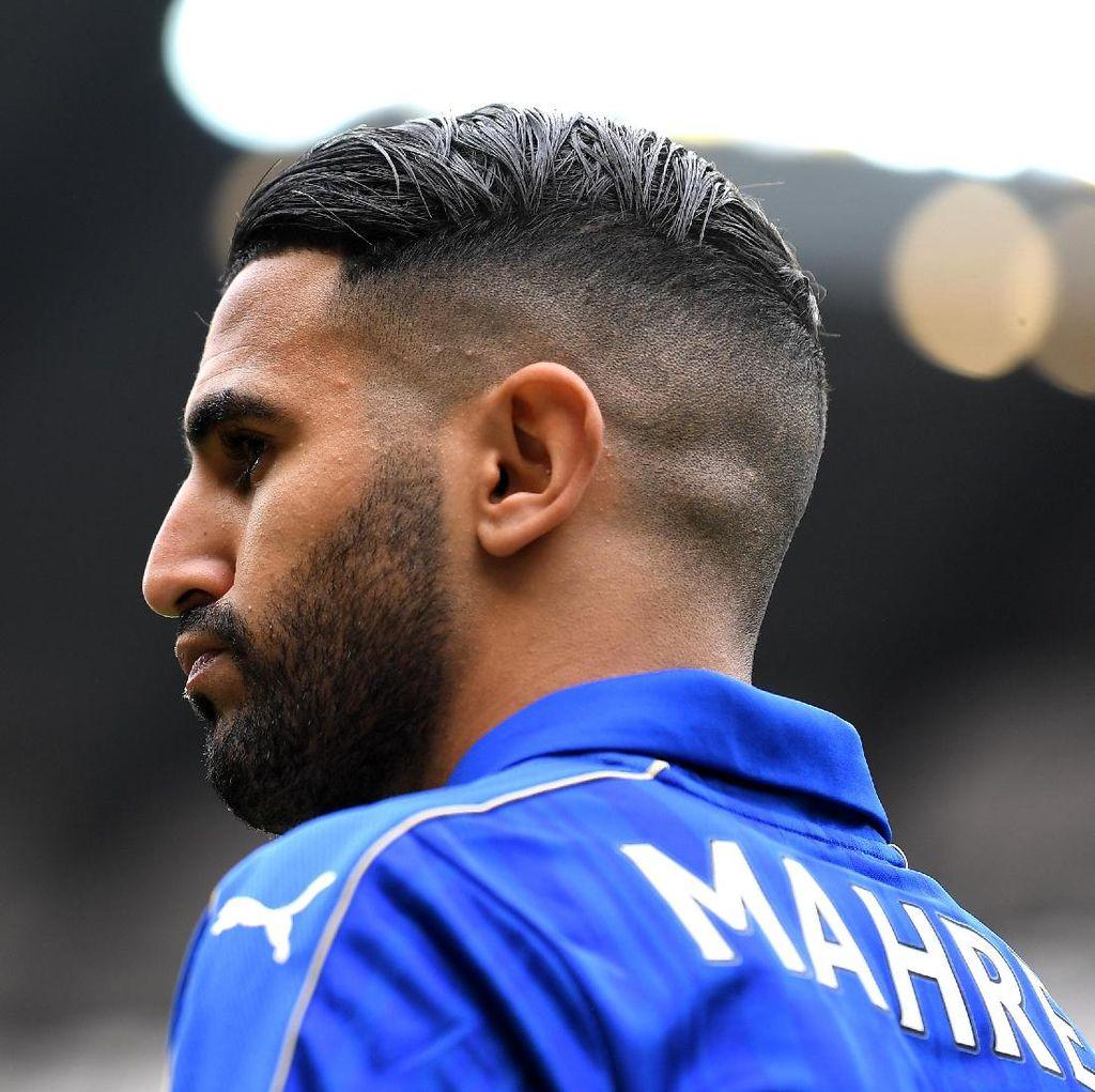 Leicester Sudah Tolak Tawaran Roma untuk Mahrez