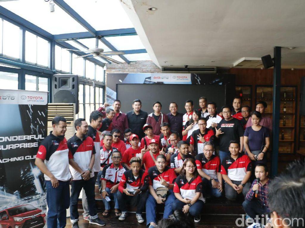 Keseruan Coaching Clinic Wonderful Surprise Bersama Toyota Calya